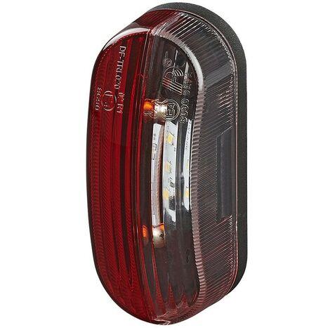 Feu de gabarit LED rouge/blanc gauche droite