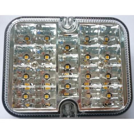 FEU DE RECUL LED 12V 3W 101X81 MM