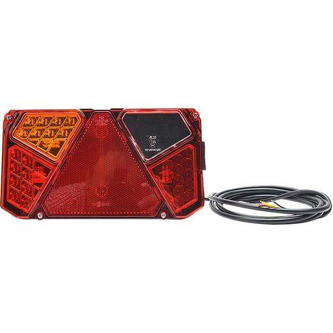 Feu de recul pour remorque gauche, arrière SecoRüt 95917 transparent extrêmités de câble ouvertes 12 V, 24 V