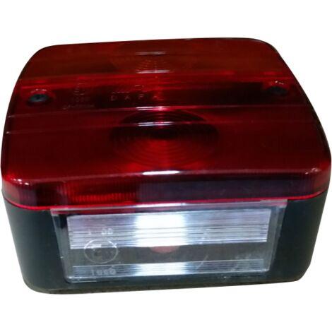 Feu de remorque à ampoules 3 ou 4 fonctions - 12 Volts - TOPCAR