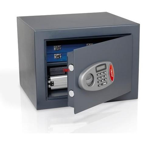 FEUERFEST Safe Tresor elektronisch Wandtresor Wandsafe