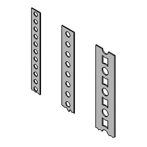 Feuillard de contreventement bande perforée (L x l x ép) 10 m x 12 x 0,8 mm - Fixtout