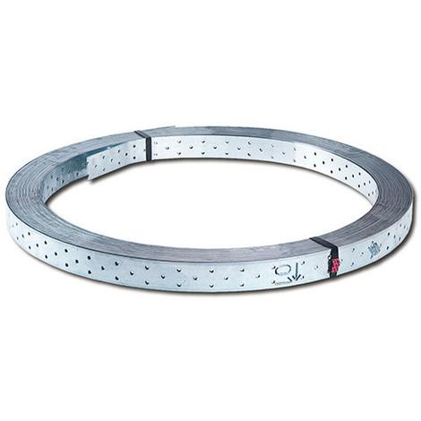 Feuillard métallique type Z (L x l x ép) 50 m x 40 x 1,5 mm - Fixtout - -
