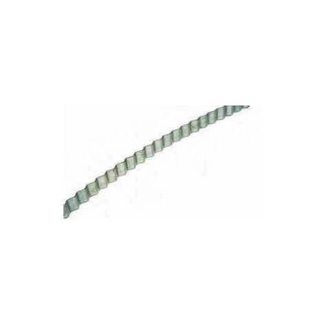 "main image of ""Feuillard ondulé 20 mm (20 mm x 25 m) acier"""