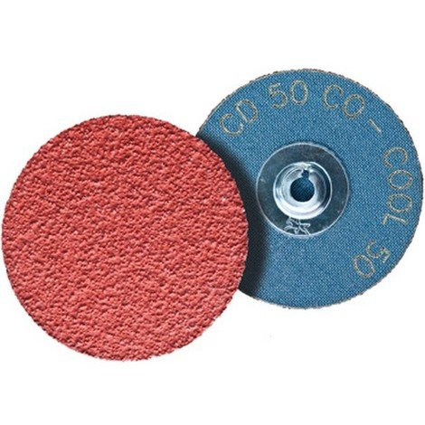 50 meules 75 mm p180 INDASA red line cames professionnel velcro papier abrasif