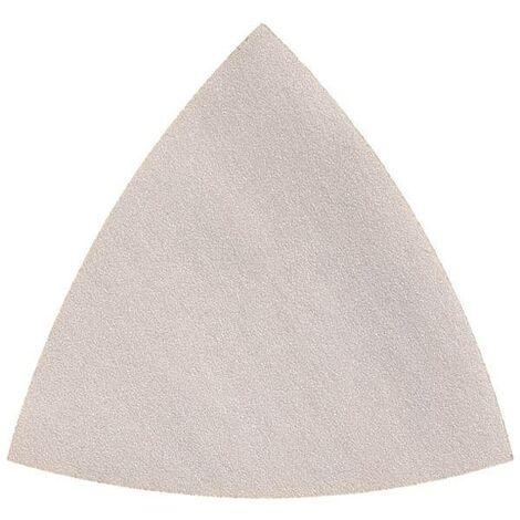 Feuille abrasive Delta non perforé Fein 63717126015 Grain 240 Cote d'encoignure 80 mm 50 pc(s) C59254