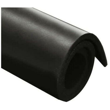 Feuille caoutchouc nitrile 100x140cm épaisseur 1mm - Noir