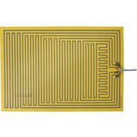 Feuille chauffante Thermo 2115266 autocollant 12 V/DC, 12 V/AC 15 W Indice de protection IPX4 (L x l) 330 mm x 230 mm 1 pc(s)
