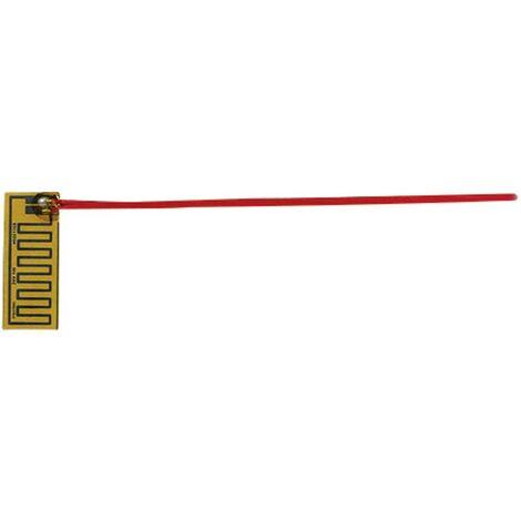 Feuille chauffante Thermo 2125356 autocollant 24 V/DC, 24 V/AC 1 W Indice de protection IPX4 (L x l) 51 mm x 20 mm 1 pc(s)