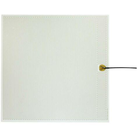 Feuille chauffante Thermo 2145434 autocollant 230 V/AC 50 W Indice de protection IPX4 (L x l) 500 mm x 500 mm 1 pc(s)