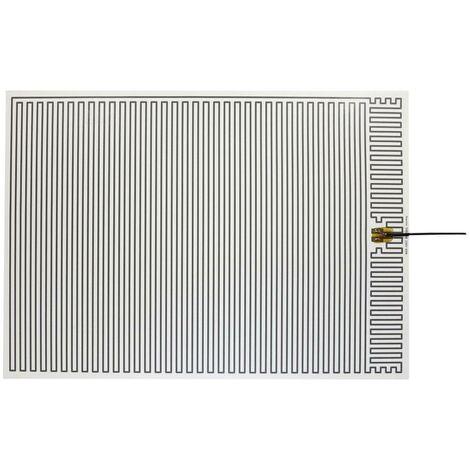 Feuille chauffante Thermo 2145435 autocollant 230 V/AC 60 W Indice de protection IPX4 (L x l) 700 mm x 500 mm 1 pc(s)