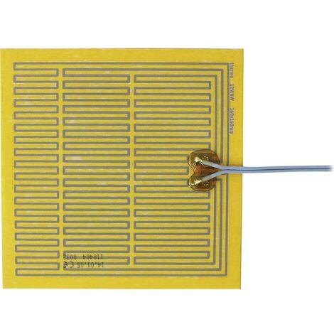Feuille chauffante Thermo TECH 2115265 autocollant 12 V/DC, 12 V/AC 6 W Indice de protection IPX4 (L x l) 160 mm x 160 mm 1 pc(s)