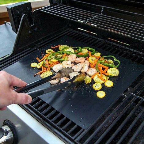 Feuille de Cuisson Antiadhésive et Réutilisable pour Barbecue BBQ et Four