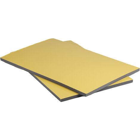 Feuille d'insonorisation, RS PRO en Mousse PUR, 1m x 600mm x 25mm Adhésif