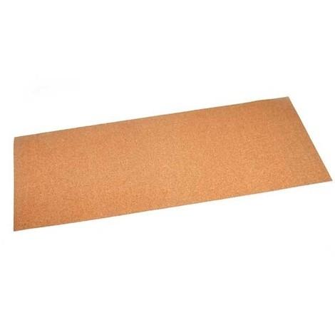 feuille joint plat en liège caoutchouc à découper 475x210 mm ep. 1.5 mm