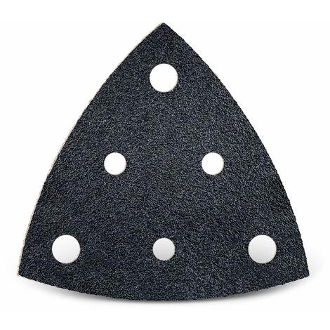 Feuilles abrasives auto-agrippantes MENZER, carbure de silicium, 82 mm, G24–800