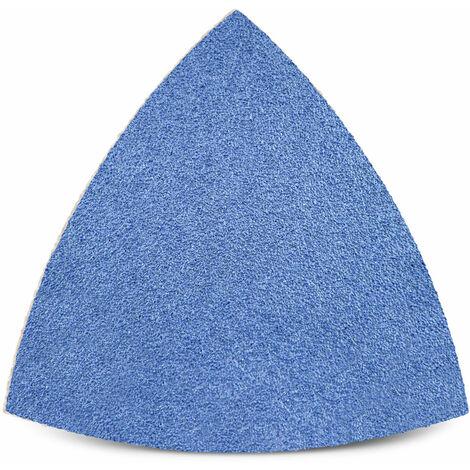 Feuilles abrasives auto-agrippantes MENZER, corindon de zirconium, 82 mm, G24–120