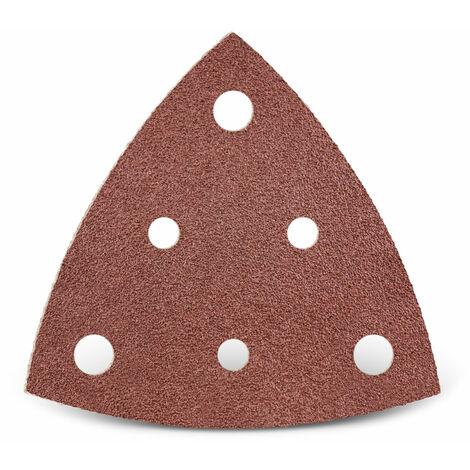Feuilles abrasives auto-agrippantes MENZER, corindon normal, 82 mm, G24–240