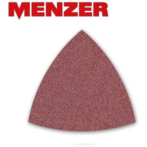 Feuilles abrasives auto-agrippantes MENZER, corindon normal, 82 mm, G24–240