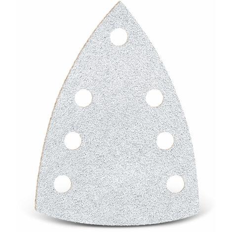Feuilles abrasives auto-agrippantes MENZER, corindon normal avec stéarate, 150 x 100 mm, G40–400