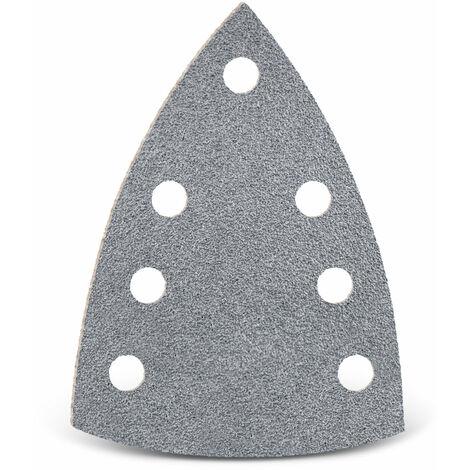 Feuilles abrasives auto-agrippantes MENZER, corindon semi-précieux avec stéarate, 150 x 100 mm, G40–400
