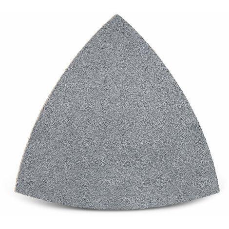 Feuilles abrasives auto-agrippantes MENZER, corindon semi-précieux avec stéarate, 82 mm, G40–400