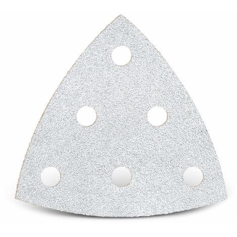 Feuilles abrasives auto-agrippantes MENZER pour Festool, corindon normal avec stéarate, 93 mm, G40–400
