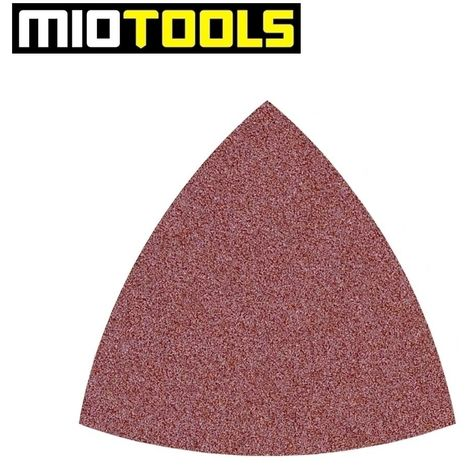 Feuilles abrasives auto-agrippantes MioTools, corindon normal, 82 mm, G24–240