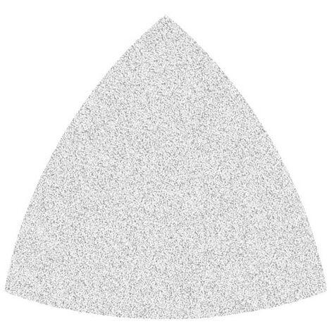 Feuilles abrasives auto-agrippantes MioTools, corindon normal avec stéarate, 82 mm, G40–400