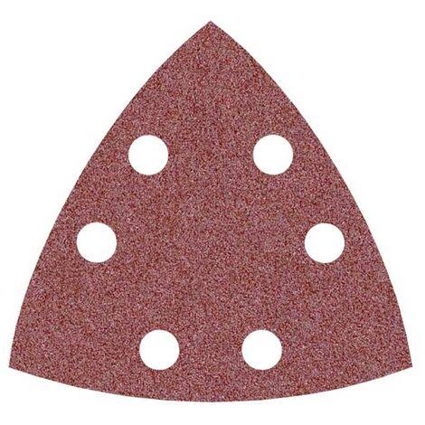 Feuilles abrasives auto-agrippantes MioTools pour Bosch, corindon normal, 93 mm, G24–240