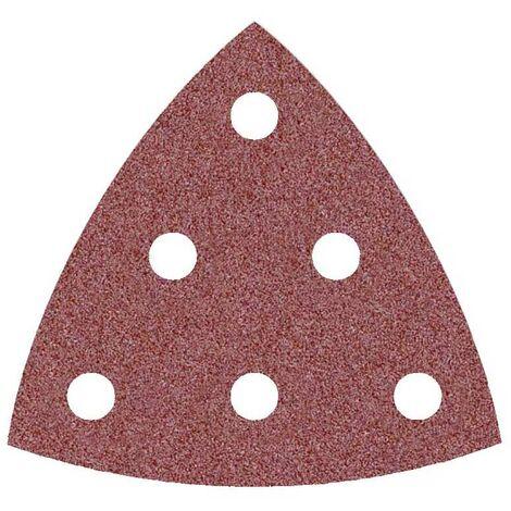 Feuilles abrasives auto-agrippantes MioTools pour Festool, corindon normal, 93 mm, G24–240