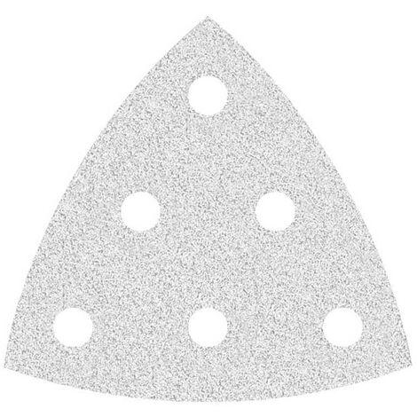 Feuilles abrasives auto-agrippantes MioTools pour Festool, corindon normal avec stéarate, 93 mm, G40–400
