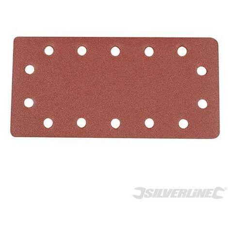 Feuilles abrasives auto-agrippantes perforées 1/2, 10 pcs, Grain 120