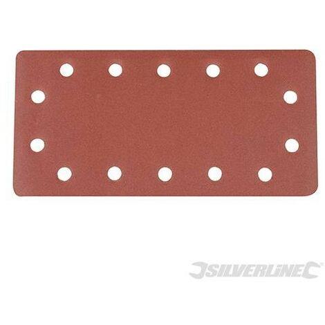 Feuilles abrasives auto-agrippantes perforées 1/2, 10 pcs, Grain 240