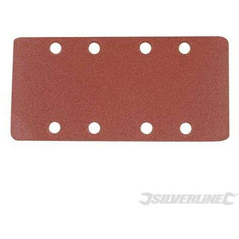 Feuilles abrasives auto-agrippantes perforées 1/3, 10 pcs, Grain 120