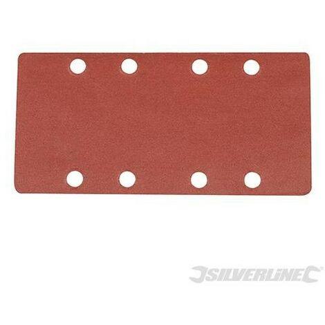 Feuilles abrasives auto-agrippantes perforées 1/3, 10 pcs, Grain 240