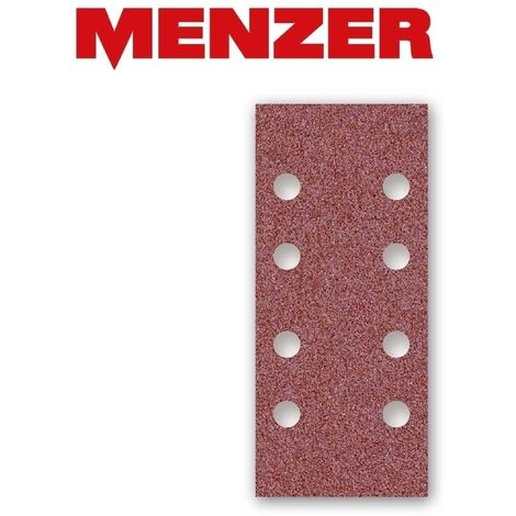 Feuilles abrasives auto-agrippants MENZER, corindon normal, 186 x 93 mm, G40–240