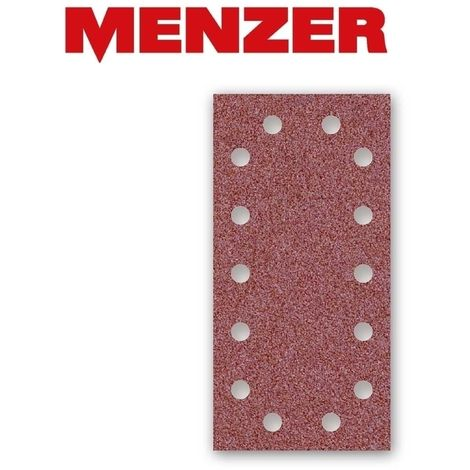 Feuilles abrasives auto-agrippants MENZER, corindon normal, 230 x 115 mm, G40–240