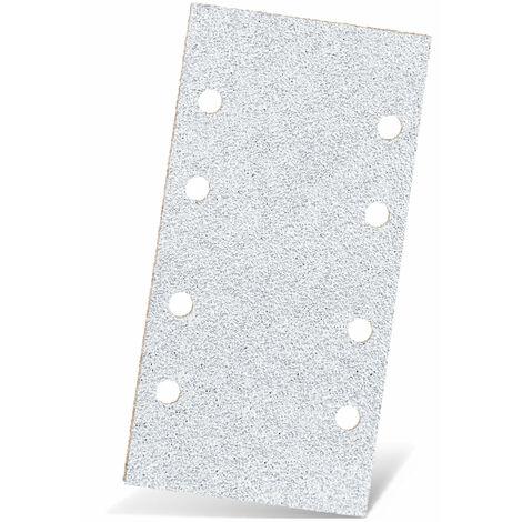 Feuilles abrasives auto-agrippants MENZER, corindon normal avec stéarate, 186 x 93 mm, G40–400