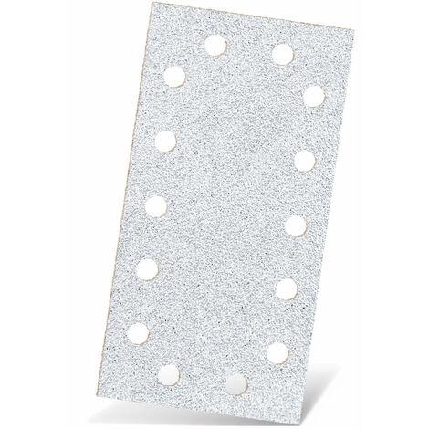 Feuilles abrasives auto-agrippants MENZER, corindon normal avec stéarate, 230 x 115 mm, G40–400