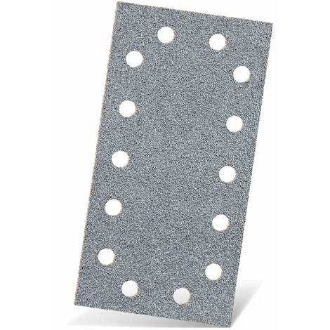 Feuilles abrasives auto-agrippants MENZER, corindon semi-précieux avec stéarate, 230 x 115 mm, G40–400