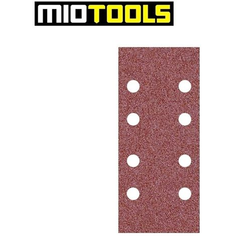 Feuilles abrasives auto-agrippants MioTools, corindon normal, 186 x 93 mm, G40–240