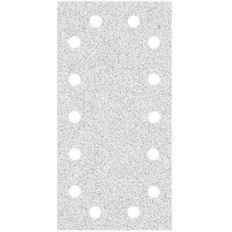 Feuilles abrasives auto-agrippants MioTools, corindon normal avec stéarate, 230 x 115 mm, G40–400
