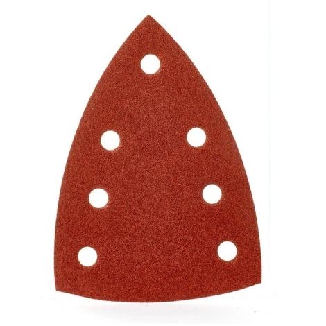 Feuilles abrasives MILWAUKEE - pour ponceuses Delta - 100x147 mm - grain 120 - carte de 10 feuilles - 4932355142