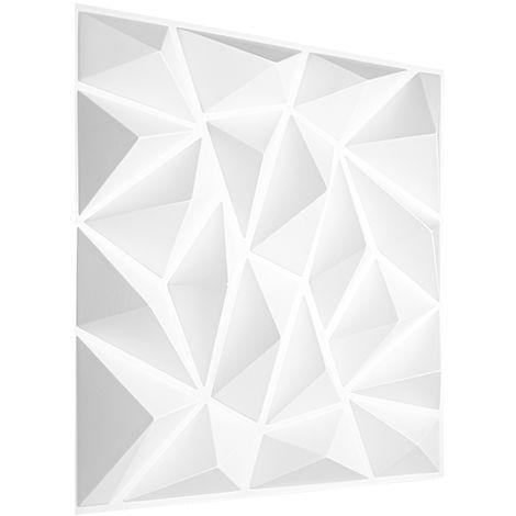 Feuilles de plastique 3D | panneaux PVC | résistants aux chocs de l'eau et aux impacts | 50x50cm | HD099