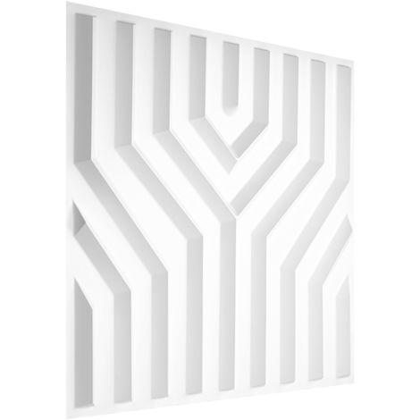 Feuilles de plastique 3D | panneaux PVC | résistants aux chocs de l'eau et aux impacts | 50x50cm | HD123