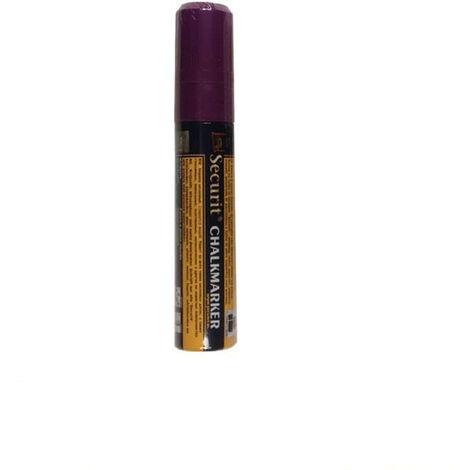 Feutre-craie 7-15 mm à encre liquide effaçable pour vitrine ardoise hôtel restaurant (à l'unité) - Violet - 15,5 - Violet