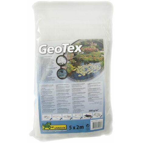 Feutre géotextile de protection blanc 5 x 2 m 200 g/m2 Ubbink 1331960