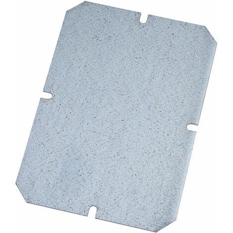 "main image of ""Fibox MP1912 Metal Mounting Plate 140 x 100mm"""