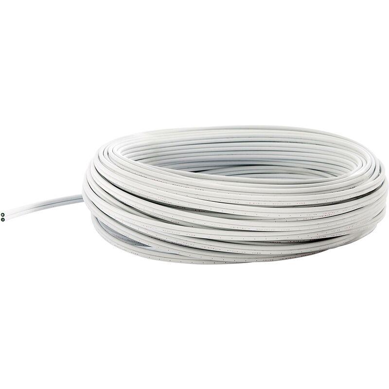 Fibre Optique Plastique fuba 29104063 Nombre de Fibre 2 Simplex Blanc 980//1000 /µ 50 m